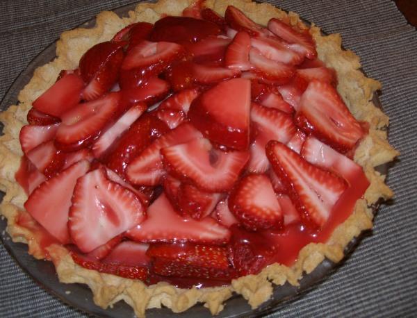 Supler's Strawberry Pie