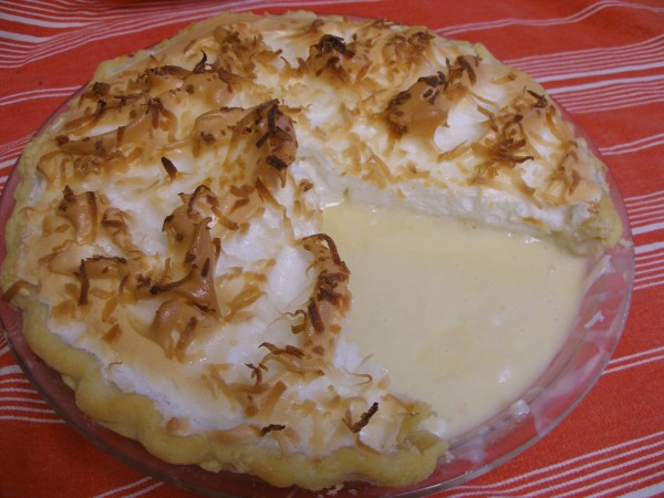 Coconut Cream Pie - FAIL