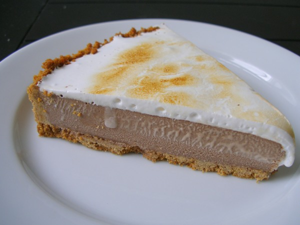 S'mores Ice Cream Tart